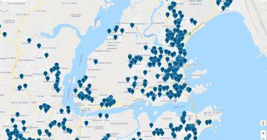 Mapa colaborativo de estabelecimentos no ES, criado com auxílio da hashtag #PorOndeComeçar.